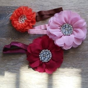 Other - Baby / Toddler flower headbands